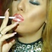 Latex Redhead Smoking On Cam