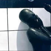 latex shower
