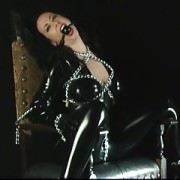 Bound and drooling