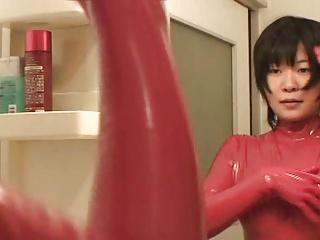 Japanese Latex Catsuit 52