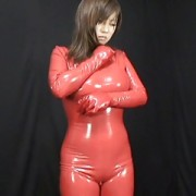 Japanese Latex Catsuit 59