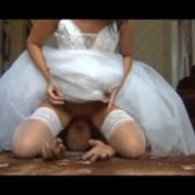 Facesitting-bride Upskirt 2