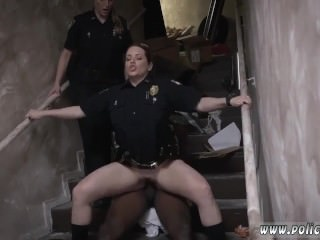 Police woman bbc gangbang Illegal Street