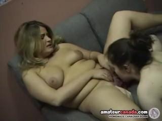 Chubby geek femdom uses strapon with kissing ditzy bbw blonde BFF