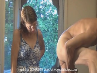 CFMN - old skank watches nude male beat off