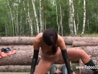Latex and delightfully fetish bdsm fucking