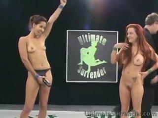 Bad ass babes battle to fuck